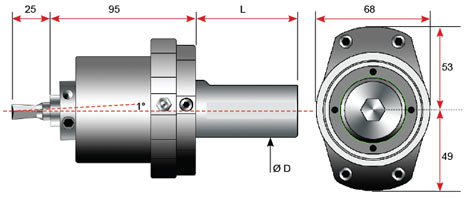 rotary broaching holder diagram