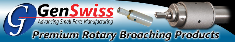 Premium Rotary Broaching Products